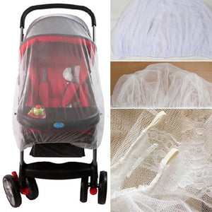 Baby Stroller Pushchair Mosquito Insect Shield Net Safe Infants Protection Accessories