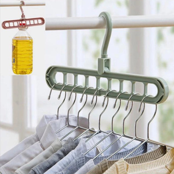 Magic Multifunction Plastic Rotating Hangers