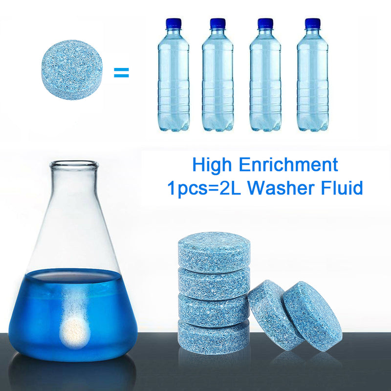 20pcs Cleaning Concentrated Effervescent Tablets Cleaner