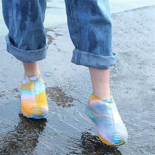 Reusable Silicone Waterproof Rain Shoes Covers