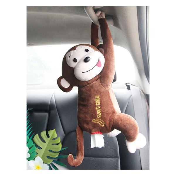 Monkey Portable Tissue Paper Box