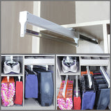 Adjustable Wardrobe Clothing Rail