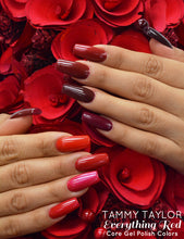 "10 Bottles Tammy Taylor Nails - ""TEN EVERYTHING RED"" COLLECTION GEL POLISH COLORS"