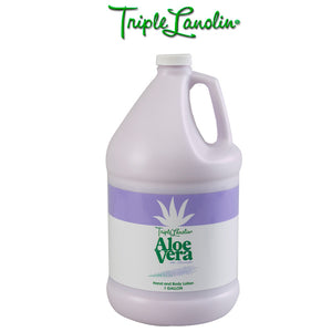 Triple Lanolin LAVENDER VERA Hand & Body lotion - For Professional Salon Refill size 1 Gallon
