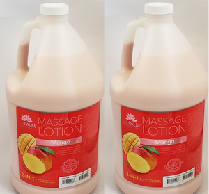 LAPALM SPA 2 in 1 Therapy Massage Lotion MANGO - 2 Gallons