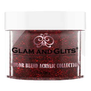 Glam & Glits Nail Design - COLOR BLEND OMBRE' & MARBLING NAIL ACRYLIC POWDER - 2oz/Jar