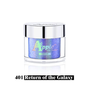 Apple 5G All in one Holographic Dipping Powder/Chrome/Fairy Dust Glitter - 2oz Jar