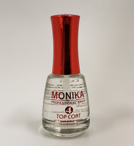 .MONIKA Professional - Dipping Powder Essentials Top Coat  -  0.5 fl.oz/15mL