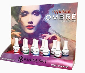 KIARA SKY Mood Changing Gel  Ombre *WICKED* Collection
