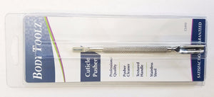 "Body Toolz (CS493) - 5 1/4"" Cuticle Pusher & Cleaner  (Professional Quality)"
