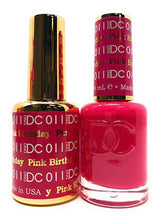 DC Duo Soak off Gel & Matching Nail Polish (#001 - 072)