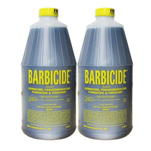 2Pc - 64oz King Research BARBICIDE Hospital Germicide Virucide Anti-Rust Formula