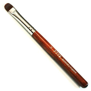 Manicure & Pedicure French Brush - 777F Red Wood Handle Size #16