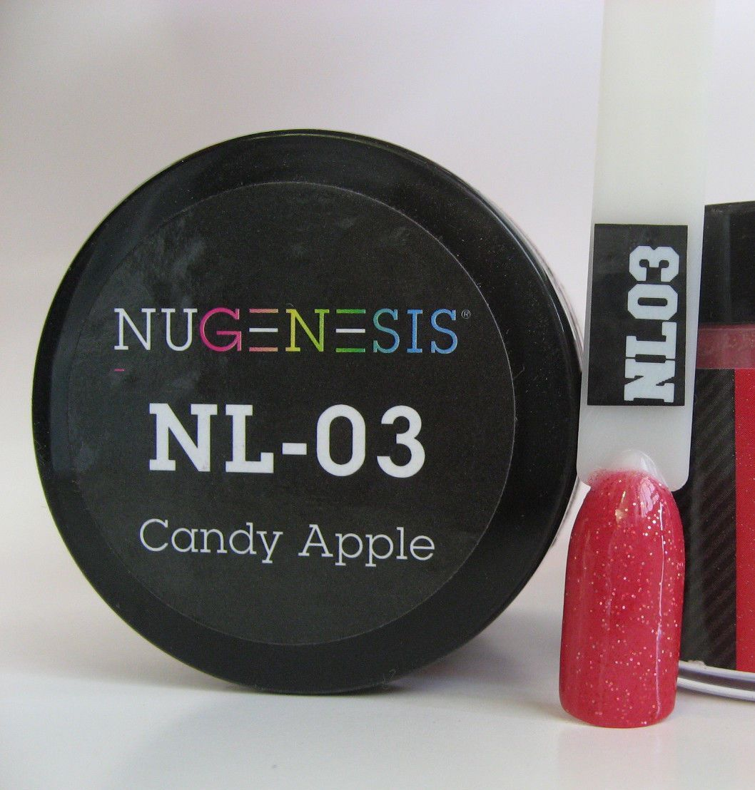 NUGENESIS - Manicure Pedicure Nail Color Dipping Powder