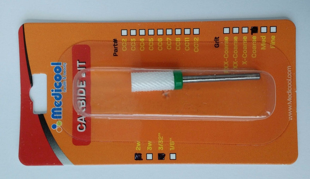 Medicool - Ceramic Drill Bit Small Barrel (CC15) - Choose your Grit