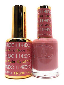 DC Duo Soak off Gel & Matching Nail Polish (#073 - 144)