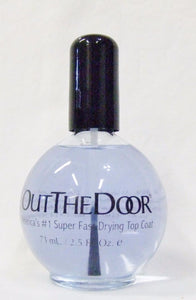 INM - OUT THE DOOR Fast Quick Rapid Dry Top Coat (2.5oz/73ml)