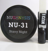 NUGENESIS Nail Color Dip Dipping Powder 1oz/jar (NU01 - 60) - Choose your Colors