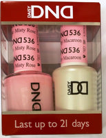 Daisy DND Duo GEL + MATCHING Nail Polish SET (522 to 545) - Choose Your Colors