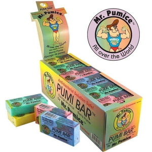 MR.PUMICE - PUMI BAR SPONGE BOX/24 COUNT