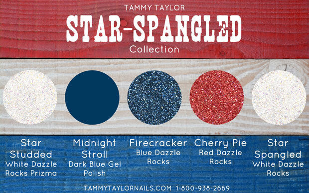Tammy Taylor Nail -  Limited edition *Star Spangled Collection*