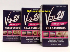 Package of 3 - Vite' 20 - Nail Fungus Kills - Brush On