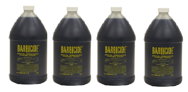 Pack of 4 Gallon Size - BARBICIDE Hospital Germicide Virucide Anti-Rust Formula