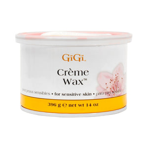 1 Jars of GiGi  Creme Wax  - 14oz/396g