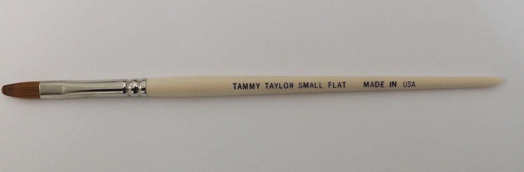 Tammy Taylor Acrylic Nail Brushes Flat style Brushes - Size SMALL