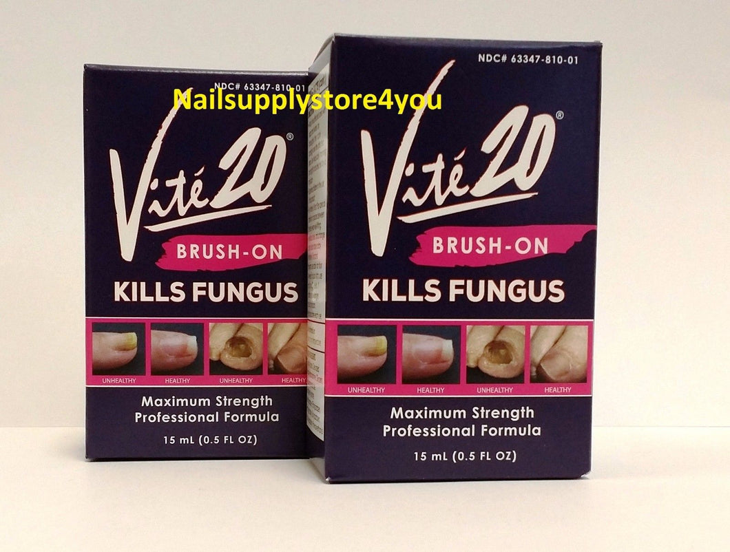 Package of 2 - Vite'20 - NAIL FUNGUS KILL - Brush On