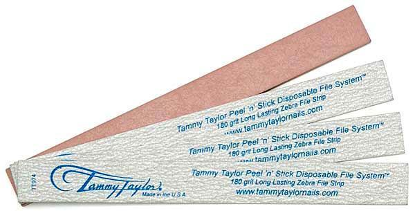 Pack of 25ct - Tammy Taylor Peel 'N' Stick Disposable File - 180 Grit