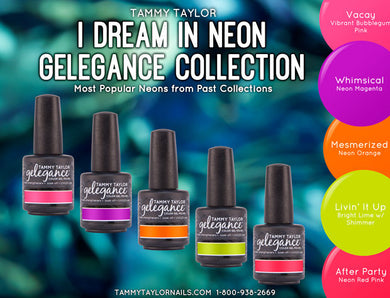 Professional Soak off gel nail colors