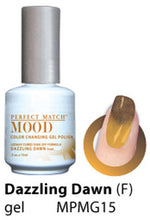 LeChat Perfect Match Mood Changing Soak off Gel Nail Polish 6 Colors Set (MG13 - MG18)