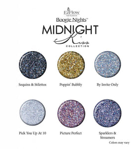 EzFlow Boogie Nights - MIDNIGHT KISS Collection 0.75oz/21g - Choose Your Colors