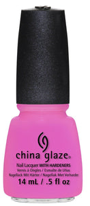 China Glaze Nail Polish Lacquer -Bottoms Up #81321- 0.5floz/15ml