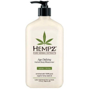 Hempz Lotion Herbal Body moisturizer - Age Defying - 17 fl. oz