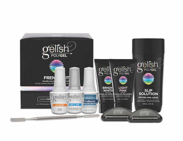 Harmony Gelish PolyGel FRENCH Kit