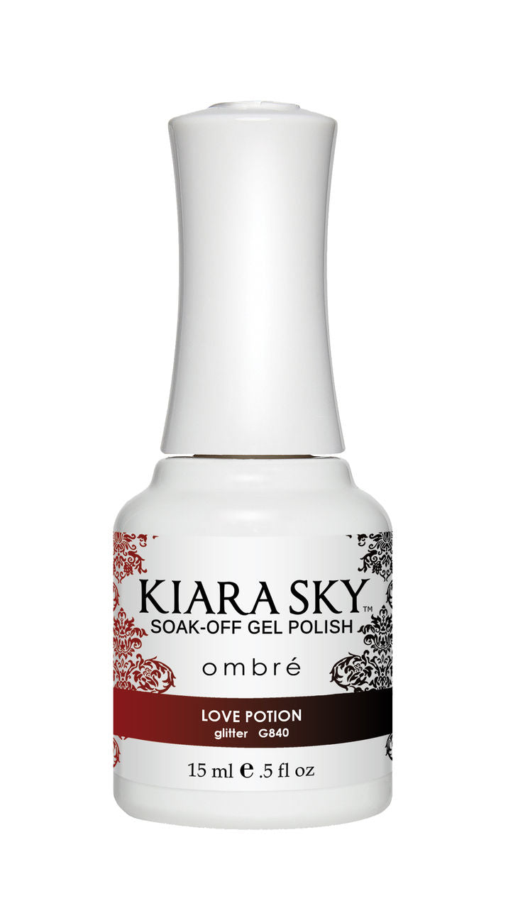 Kiara Sky Soak-off Gel Polish Ombre - G840 SHATTERED DREAMS