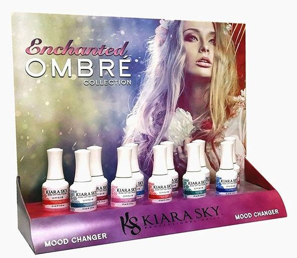 KIARA SKY Mood Changing Gel Polish Ombre *Enchant* Collection - 11 Colors