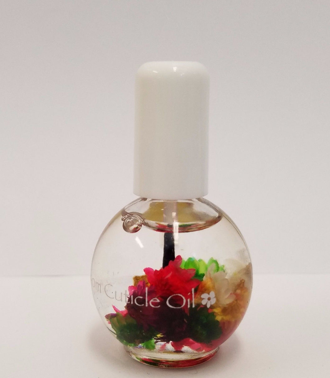 Blossom Cuticle Oil with Real Flowers 0.5oz - SPRING BOUQUET