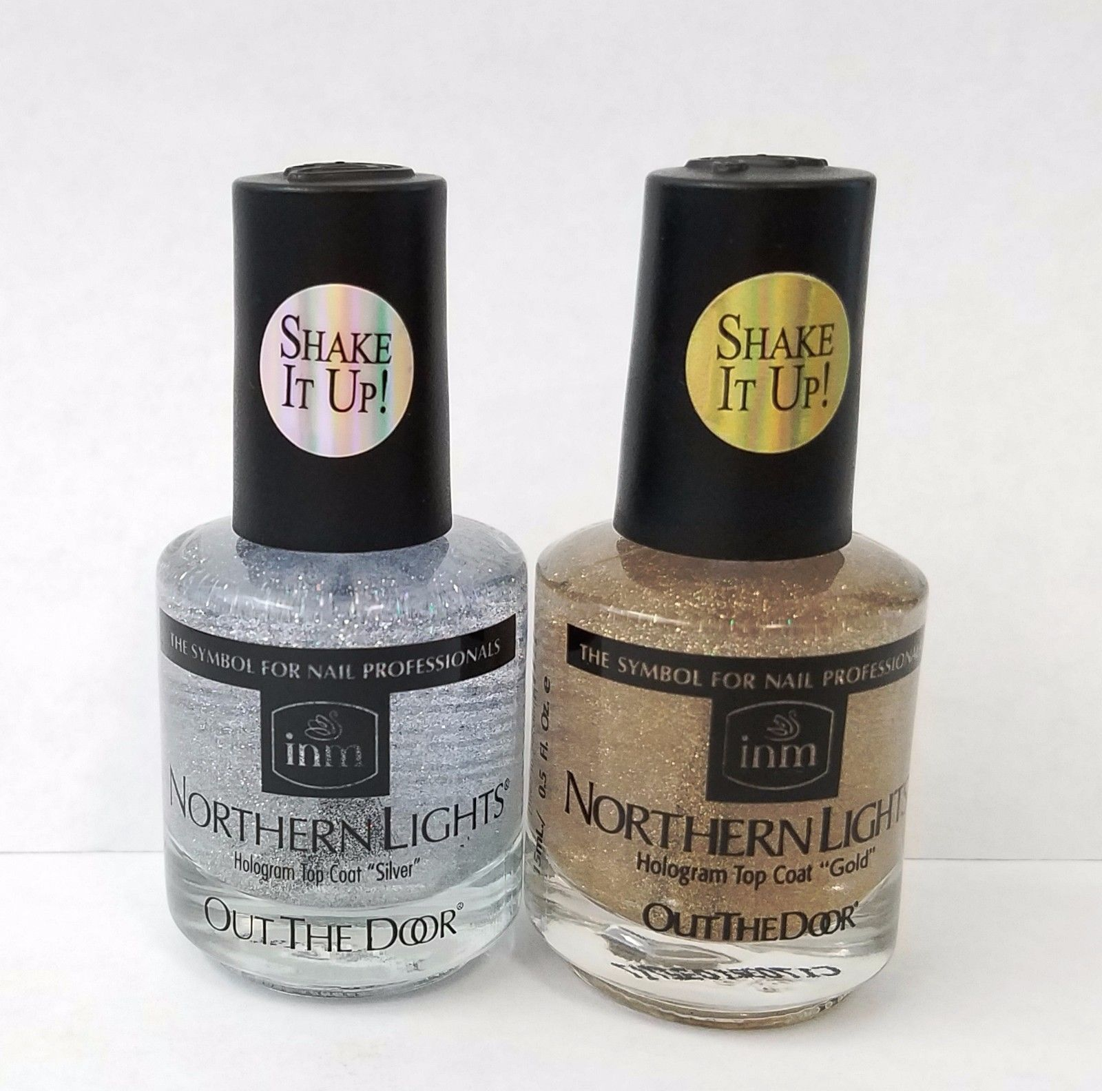 Inm Northern Lights Shake It Up Hologram Top Coat