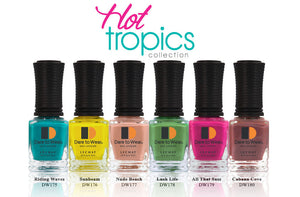 LECHAT Dare to Wear Nail Polish - Hot Tropics Collection (6 Colors)