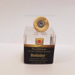 Berkeley - PureShine SMALL Chamois Buffing for Rotary File - 3/32""