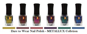 LeChat Dare to Wear METALLUX Regular Nail Polish