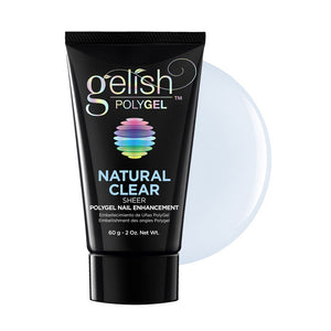 Nail Gelish Harmony PolyGel Natural Clear (2oz / 60g)