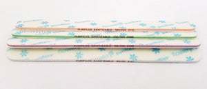 Pack of 20 Flowery Purifiles Disinfectable  REGULAR Nail File - Choose Your Grit