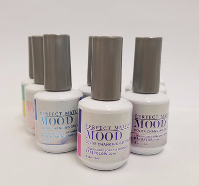 LeChat Soak Off Gel Mood Changing  Colors (#49 - #60) - Choose Your Colors