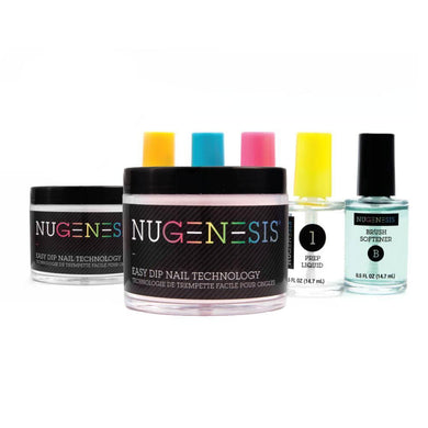 NuGenesis Nail Easy Dip Powder - Starter Kit