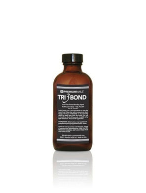 Premium Nail - Tri-Bond Acid-Free Primer (For Soak off Gel Polish/Nail Acrylic/Hard Gel) - 4 fl. oz