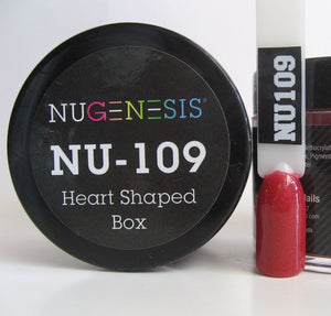 NuGenesis Healthy Manicure Nail Dipping Powder Colors 2oz/43g jar (NU61 - 120) - Choose Your Color